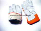 Перчатка руки изготовления Китая кожаный работая