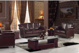 Salone classico Leather Sofa Furniture con Top Grain Leather