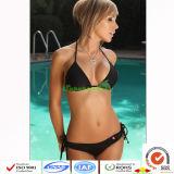 Bikini caldo del Halter delle donne di colore della caramella/bikini sexy