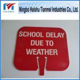 Знак извещении о школы, подгонянный пластичный знак