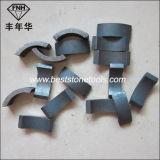 Segment aggloméré de morceau de foret de faisceau de diamant pour le meulage de découpage (diamètre : 18-800mm)
