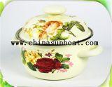 エナメルのカセロールスープ鍋