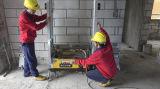 Parede do equipamento de construção de Digitas que emplastra a máquina