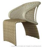 フランスの椅子(S289)を食事する現代屋外の家具のツルのテラスのホテルのレストラン