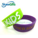 Bracelet personnalisé de silicones avec l'excellente qualité