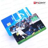 Cartão de Alta Freqüência Superior do PVC 13.56MHz RFID da Quente-Venda da Classe
