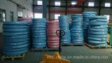 Le fil d'acier a tressé le boyau hydraulique couvert par caoutchouc renforcé (SAE100 R1-R3at)/boyau en caoutchouc