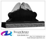De Zwarte van Shanxi of G654 Grafsteen van het Hart van de Engel van het Graniet de Snijdende