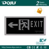 DJ-01c2 luz Emergency patentada recargable material ignífuga del producto LED con CB