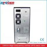 Предохранение от перенапряжения и резервный тип UPS 10kVA он-лайн
