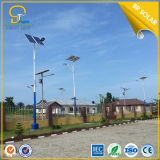Street solare Light in Nigeria Project con Soncap Certified
