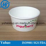 Plastic Lid (YH-L87)를 가진 4/6/8/10/16/32oz Ice Cream Cup