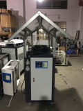 Máquina de enfriamiento refrigerada por agua del refrigerador industrial plástico
