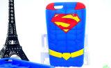 Caixa do silicone do superman para o iPhone 7 acessórios do telefone de 7plus Motorola G4 (XSY-006)