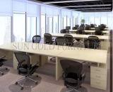 Cubículo de madera moderno de la oficina del sitio de trabajo barato (SZ-WST607)