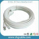 Qualitätskoaxialkabel Rg59 + Powe Draht mit BNC Gleichstrom-Verbindern