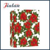 Bolso de papel barato de la ropa del conjunto del regalo del diseño del día de fiesta de la Feliz Navidad