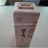 Caixa de madeira do vinho