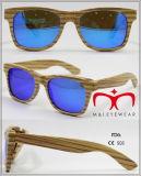 2016 Novos óculos de sol de bambu e madeira com lente polarizada (WS001-WS020)