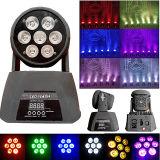 安く、熱い販売LED 7PCS*15W 6in1の移動洗浄ライト