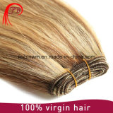 9Aインドのバージンの毛のRemyの人間の毛髪の拡張