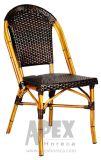 Bistro-Stuhl-Alaun-Weidenstuhl-Bambusblick-Gaststätte-Möbel