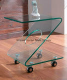 Table clair Custom Acrylic Products Display Stand pour Promotional
