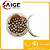 Esfera de moedura de aço do processo de manufatura decorativo