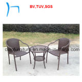 F stanza Outdoor Furniture Cheap Rattan Table (8030t+C-2040) di Coffee