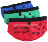 Hundeschüssel-bewegliche Wasser-Zubehör-Produkt-Zubehör-Haustier-Schüssel