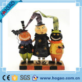 Figurine personalizado do crânio da resina da decoração de Halloween