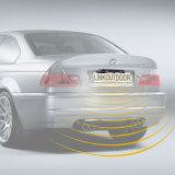 3 in 1 Car Parking Sensor con 2 Sensors+1 Camera
