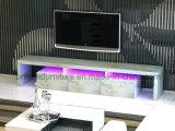 Soporte del LED TV con los muebles de papel de piedra de mármol del hogar de la chapa (BR-TV780M)