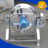 Bouilloire revêtue de chauffage de vapeur d'acier inoxydable (machine)