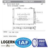 Radiador de alumínio do Benz MB-095 para W210/E420/E430/W210/E50amg/E300d'95- em
