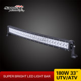 180W 33inch IP67 4X4 Offroad Curved CREE LED Light Bar
