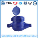 Dn15mm droog de Meter van het Koude Water van de Wijzerplaat van ABS Plastic Materiaal