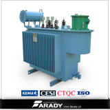 삼상 11kv 33kv 500kVA Oil Immersed Power Transformer
