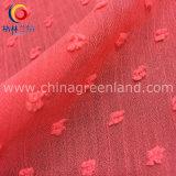 Ткань жаккарда полиэфира для одежды платья женщины (GLLML231)