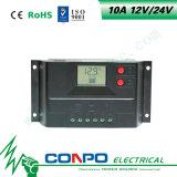 10A, 12V/24V 의 LCD 지능적인 태양 관제사