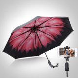 Nuovo di stile bastone di Monopod Selfie dell'ombrello di protezione di Sun ultra