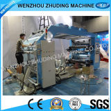 Fatto in Cina High Spped 6colour Roll a Roll Flexo Printing Machine