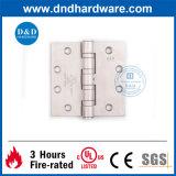 Charnière 4.5X4.5X4.6 d'acier inoxydable de matériel de porte d'UL