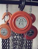Portable de bonne qualité Hsz 2t 3m Chain Hoist