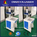 Baixo laser Marking Machine de Cost 20W Sealed Fiber para Metal/Nib/Plastic/Dog Tag/Key Chains/Pen