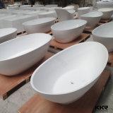 Banho autônomo dos mercadorias sanitários de superfície contínuos acrílicos brancos
