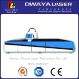 Máquina de corte do laser da fibra do metal de folha de Dwy-750W