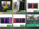 Éclairage LED solaire complet de rue d'horizontal du détecteur 30W d'IP65 PIR