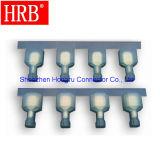 Terminale isolato nylon maschio di pressatura fredda di Hrb