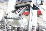 Relleno del papel de aluminio de la botella del yogur y máquina monobloques automáticos del lacre